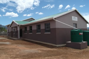 Ntokozweni's new premises in the Community Centre